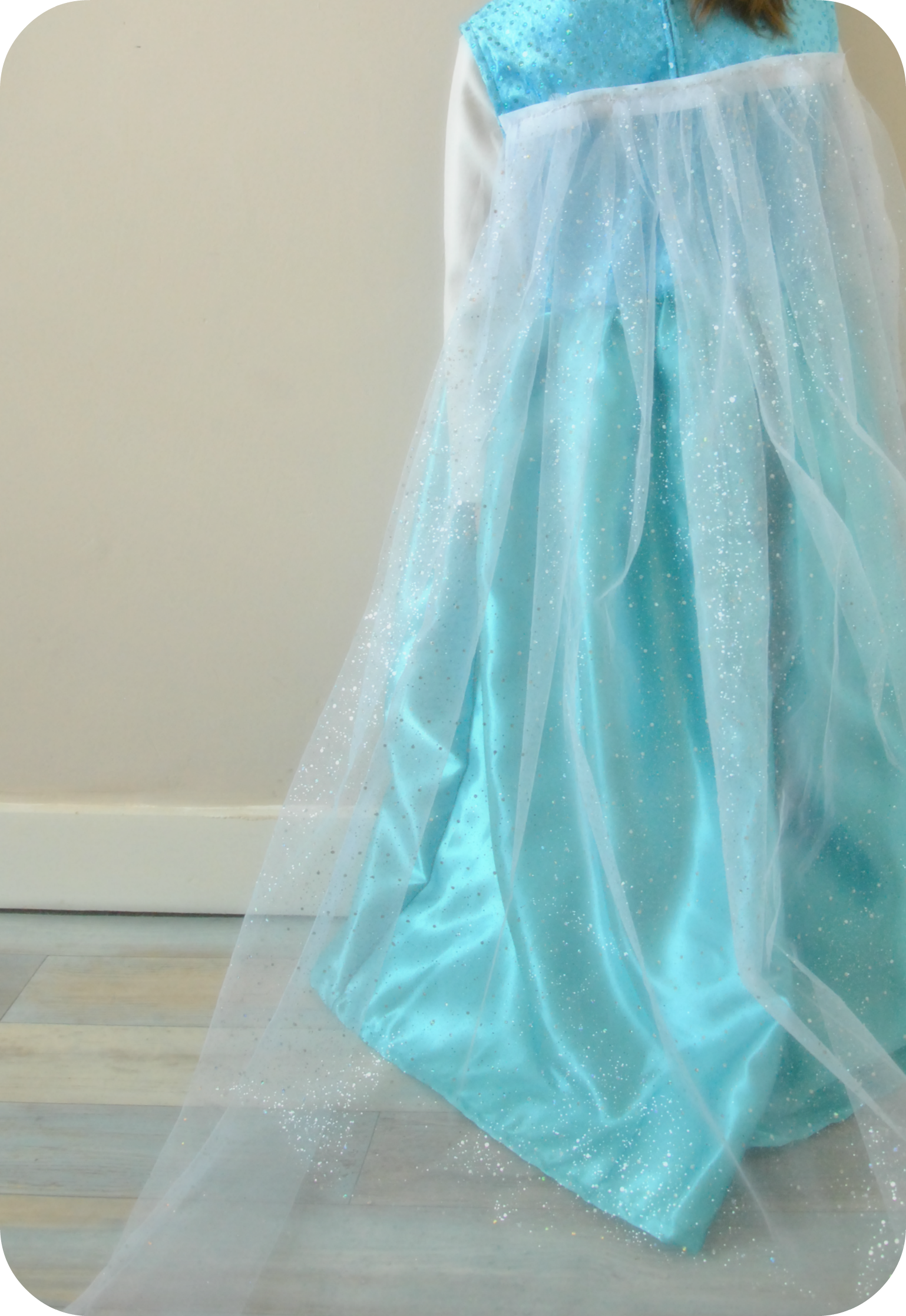 Couture enfant mademoiselle lu - Robe reine des glaces ...